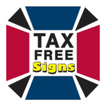Tax Free Signs Logo